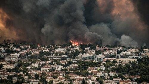 Feuersbrünste wüten in Mittelmeerländern – Weiter höchste Brandgefahr