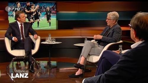 """""""Das ist komplett scheinheilig"""": UEFA bei """"Markus Lanz"""" in der Kritik"""