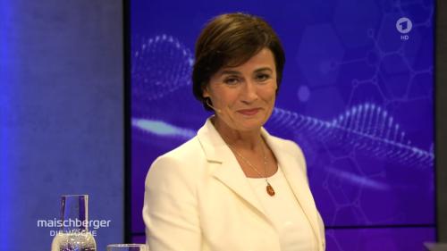 Maischberger führt AfD-Sprecher vor – dann passiert ihr selbst ein peinlicher Fehler
