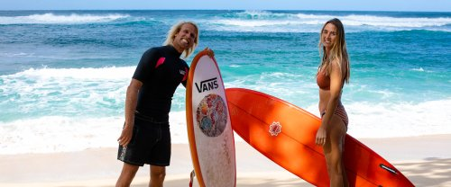 The Joys & Pitfalls Of A Couple's Surf Trip With Dane Gudauskas & Anna Ehrgott - Wavelength Surf Magazine - since 1981