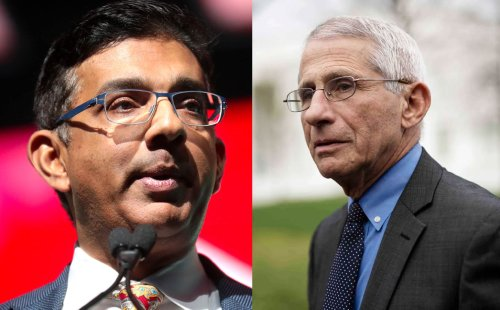 Dinesh D'Souza Just Put Dr. Fauci in Hot Seat With This Damning Photo