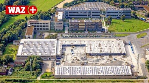 Aldi Süd reißt Logistikzentrum in Mülheim-Styrum ab