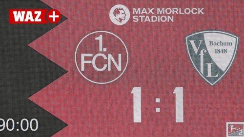 """VfL Bochum """"nur"""" 1:1 in Nürnberg? Der Punkt war doppelt wichtig"""