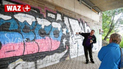 Mülheimer Streetworker erklärt die Bedeutung von Graffiti