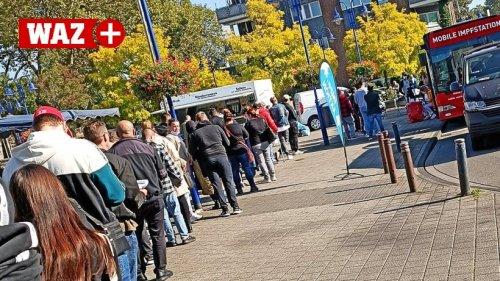 Duisburg: Weniger Pikse – trotz Impfbus und großer Impflücke