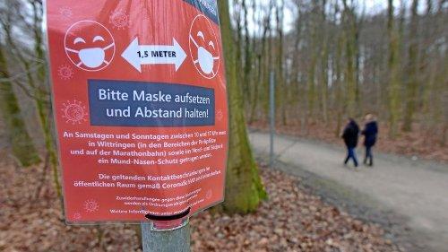 Stadt hebt Maskenpflicht in Wittringen und den Parks auf