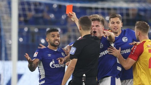 Schalke: So reagiert Victor Palsson auf seinen Platzverweis