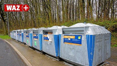 Containerplätze in Bochum werden immer öfter zugemüllt