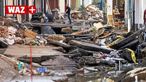 Flutkatastrophe: So packen Duisburger in Bad Münstereifel an