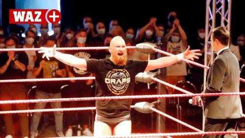 Einstiger WWE-Star steigt in Oberhausen in Wrestling-Ring