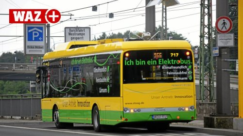 Stoag will in zehn Jahren nur noch Elektrobusse einsetzen