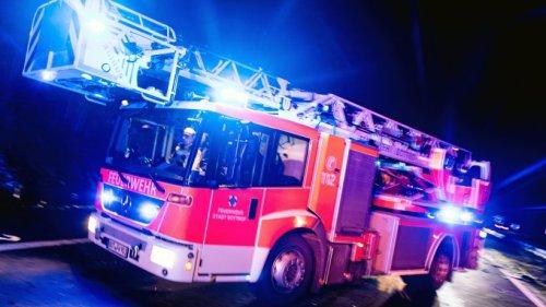 Bochum: Feuerwehr löscht Brand in Unterkunft für Flüchtlinge