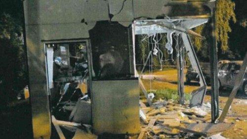 Geldautomat in Herne mit Sprengstoff in die Luft gejagt