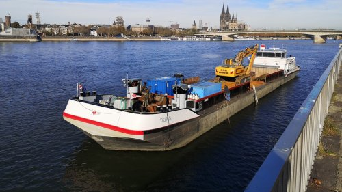 Bergung der E-Scooter aus dem Rhein gestoppt