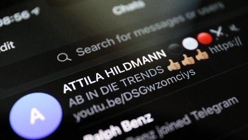 """Wenn Attila Hildmann auf Telegram zum """"Blitzkrieg"""" aufruft"""
