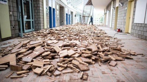 Kaputte Schulen, zerstörte Rathäuser: Große Unwetter-Schäden an öffentlichen Gebäuden