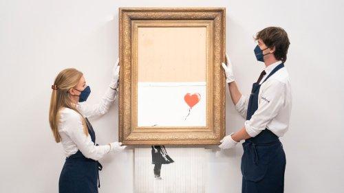"""Banksy-Versteigerung: """"Werk macht, was es will"""""""