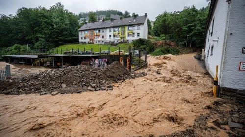 Alle Infos zu Unwetter und Starkregen in Südwestfalen