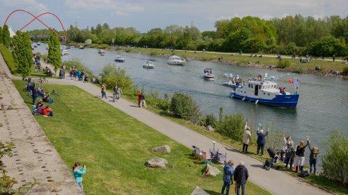 Bei Schiffsparade: Leiche im Rhein-Herne-Kanal entdeckt