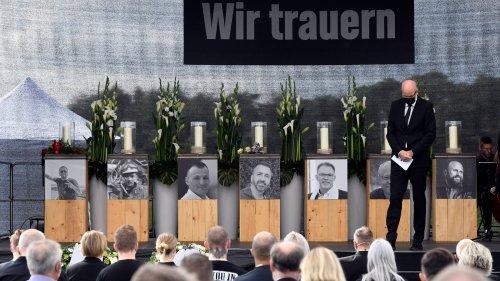 Emotionale Trauerfeier nach Explosion in Leverkusen