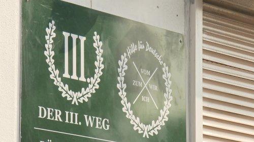 Der Dritte Weg - Rechtsextremisten verlieren Büro in Siegen