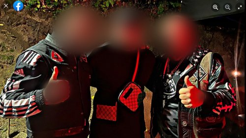 Hattinger Feuerwehrmann in rechtem Rockerclub