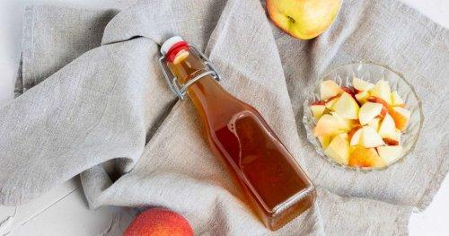 Apfelessig selber machen aus nur 3 Zutaten