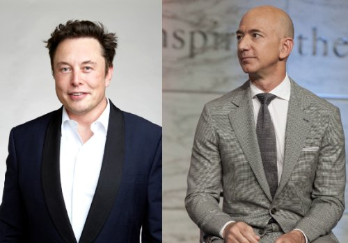 The Musk-Bezos rivalry just exploded to a new level