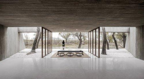 Waterside Buddhist Shrine in China by Archstudio