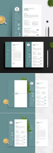 Stand Out with this Adobe InDesign Resume and Cover Letter Template