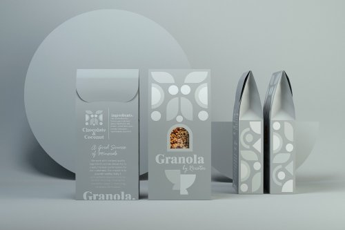 Granola Packaging Design by CreativeByDefinition