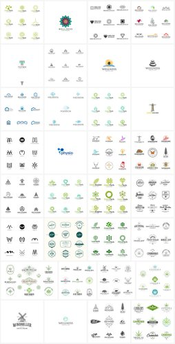 Download Logo Templates as Fully Editable Vector Files
