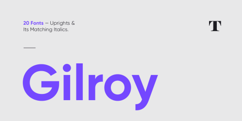 Five Best Minimal Fonts for your Typographic Design