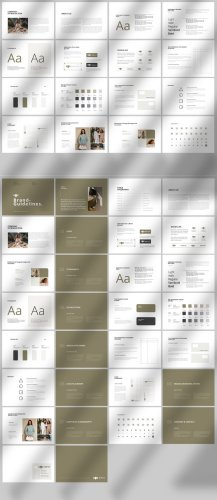 Brand Identity Guidelines Brochure Template