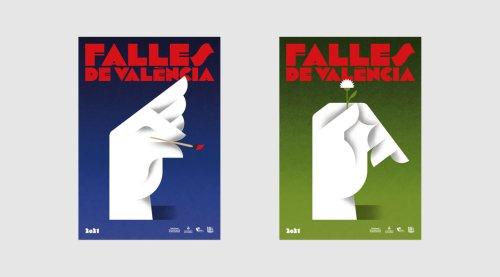 Fallas 2021 Graphic Identity by Fase Studio