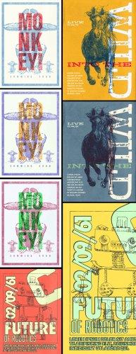 Download Vintage Overprint Poster Design Templates for Adobe Photoshop
