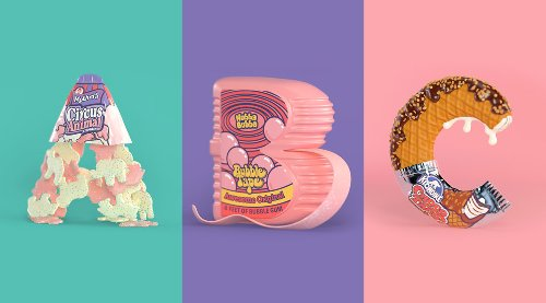 90s Nibbles Series by Noah Camp