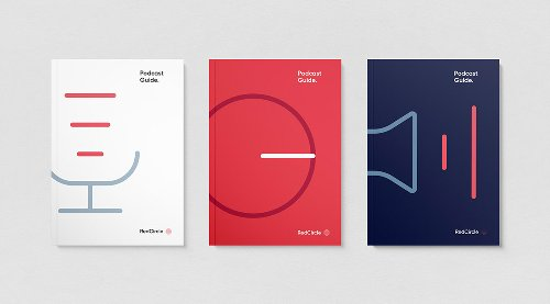 RedCircle Visual Identity System by Oddone and Caren Williams