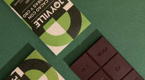 Joyville Chocolate Brand Identity & Packaging Design by Parámetro Studio