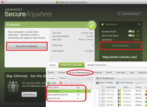 How to Check Scan Results and Manage Threats in Webroot? – www.webroot.com/safe | Webroot.com/safe