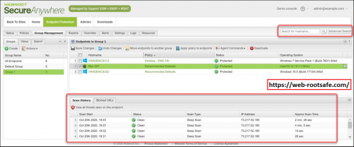 How To View the Report of Scan Activity in Webroot? – www.webroot.com/safe | Webroot.com/safe