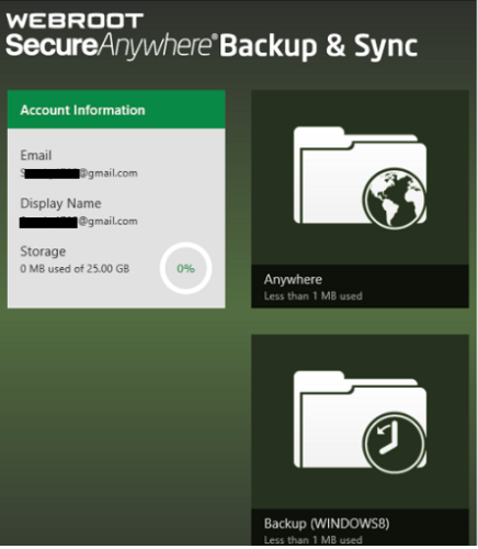 How To Download and Install Backup and Sync App in Windows? - Www.Webroot.com/safe