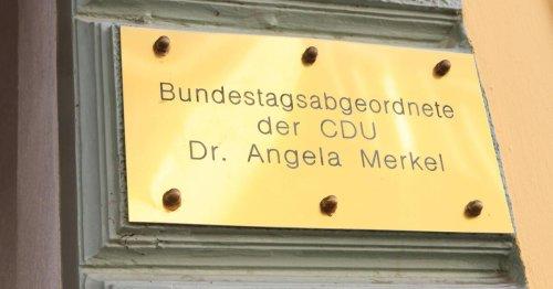 Hinweis auf Angela Merkel ist verschwunden