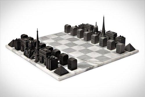 Paris Skyline Chess Set | Infinity Masculine