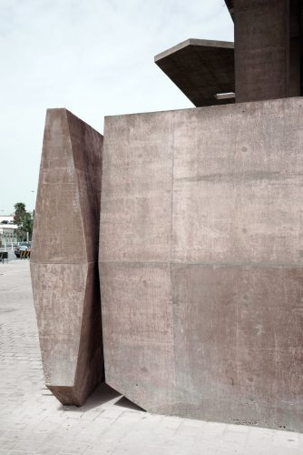 Museum and entrance to the Pearling Path by Valerio Olgiati
