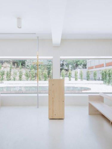 Jesus Mestre Chapel by Site Specific Arquitectura