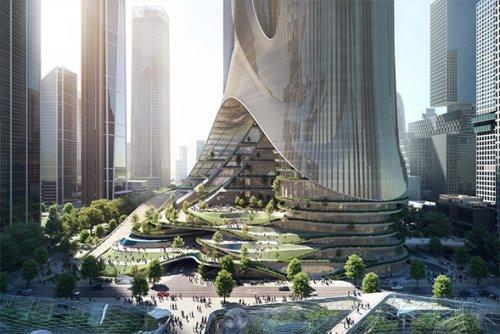 Tower C By Zaha Hadid Architects | Infinity Masculine