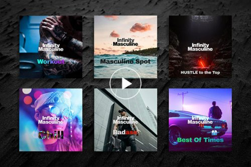 Infinity Masculine Spotify Playlists   Infinity Masculine