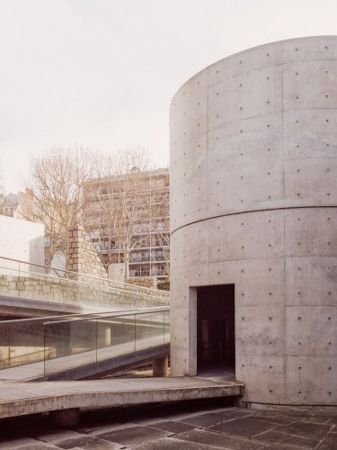 Tadao Ando's Meditation Space photographed by Simone Bossi