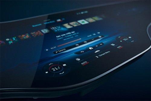 Mercedes-Benz MBUX Hyperscreen | Infinity Masculine